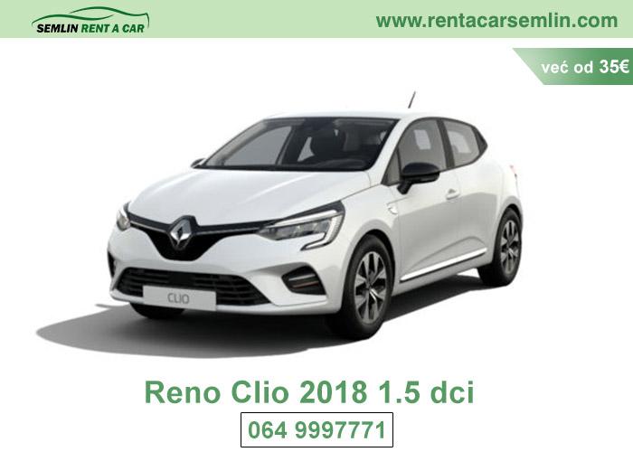 Reno Clio 2018 1.5 dci